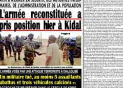 Revue de presse Mali du 14 02 2020