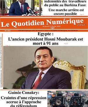 Le Quotidien Numérique – N° 1402