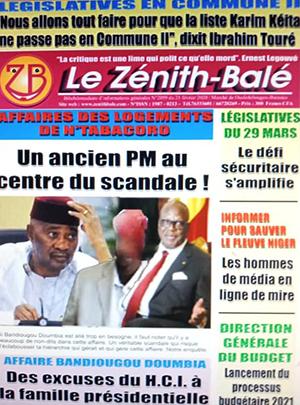Le Zenith Bale – N° 2001
