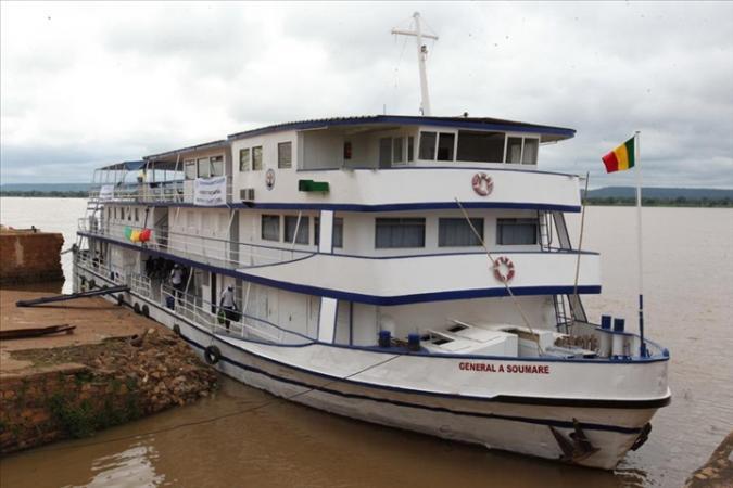 Compagnie Malienne de Navigation (COMANAV) : Les bateaux en ''hibernation''