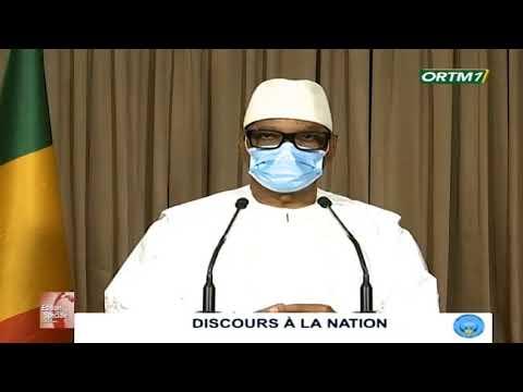 DISCOURS A LA NATION DU PRESIDENT IBK DU 08 JUILLET 2020