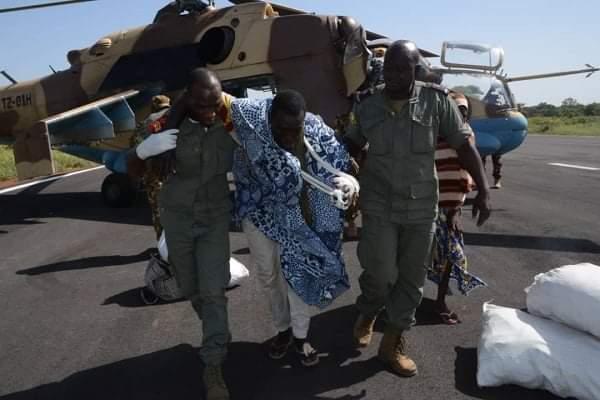 MALI : ARRIVÉE DES FORCES SPÉCIALES À FARABOUGOU