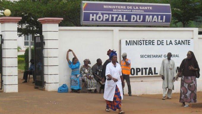 Hôpital du Mali: le personnel en arrêt de travail, un agent agressé par un élément du CNSP