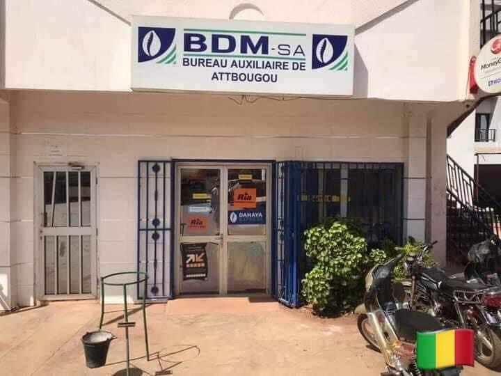 Info: BRAQUAGES DE L'AGENCE BDM-sa ce mardi 1er décembre 2020