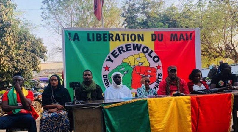 Contre la politique de la France au Mali : Une grande mobilisation prévue le 20 janvier prochain