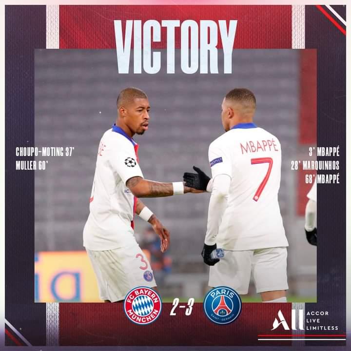 Foot: le PSG jette un froid à Munich en Ligue des champions