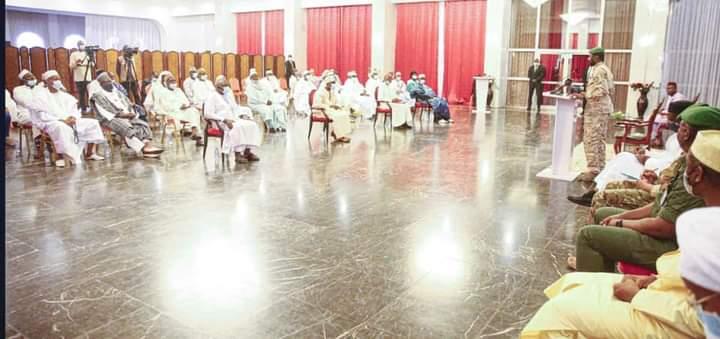 Koulouba : le Président de la Transition reçoit les leaders des Confessions Religieuses
