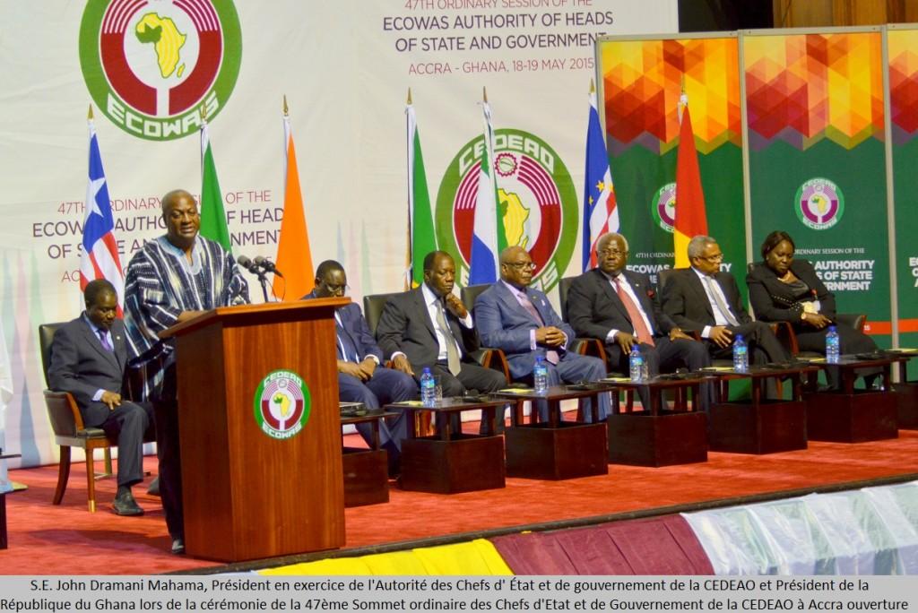 Guinée: la Cédéao sanctionne les auteurs du putsch et veut une transition rapide